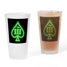 Three Percent - Spade and Rifle - Green Glow Drink