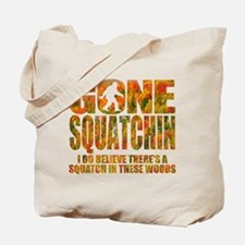 Gone Squatchin *Fall Foliage Forest Edition* Tote
