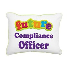 Future Compliance Officer Rectangular Canvas Pillo