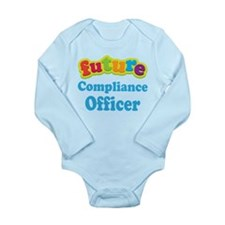 Future Compliance Officer Long Sleeve Infant Bodys