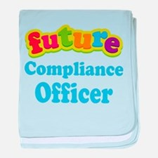 Future Compliance Officer baby blanket