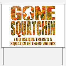 Gone Squatchin *Fall Foliage Forest Edition* Yard