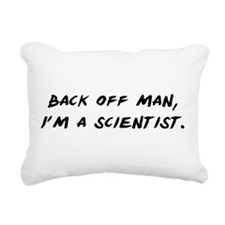 Back off man, Im a Scientist Rectangular Canvas Pi