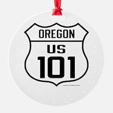 US Route 101 - Oregon Ornament