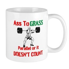 Ass To Grass or it doesnt count Small Mug