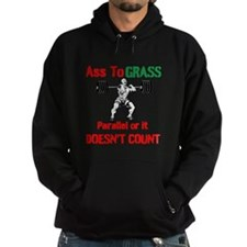 Ass To Grass or it doesnt count Hoodie