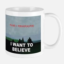 I want to Believe Bayesian Mug