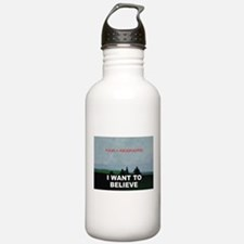 I want to Believe Bayesian Water Bottle