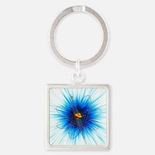 Atomic structure, artwork - Square Keychain