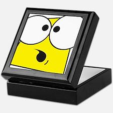 Cartoon Face Keepsake Box