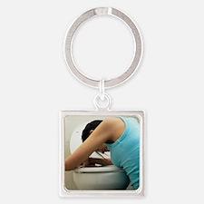Bulimia - Square Keychain