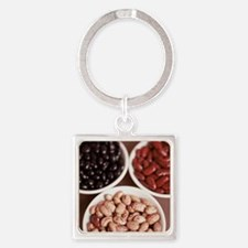 Dried pulses - Square Keychain