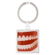 Toy teeth - Square Keychain