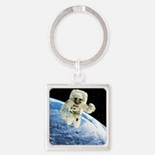 ver Earth - Square Keychain