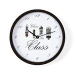 Wall Clock - Glass Has Class