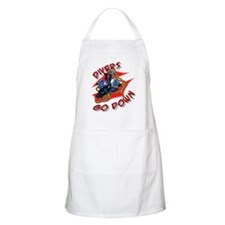 Divers Go Down BBQ Apron