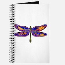 Celestial Fantasy Dragonfly Journal