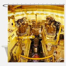 Nuclear Reactor Vessel, Sizewel - Shower Curtain