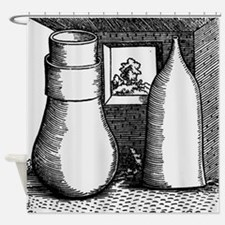 chemicals - Shower Curtain