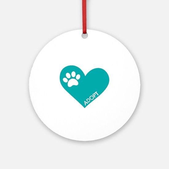 Animal Rescue Round Ornament