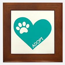 Animal Rescue Framed Tile