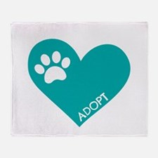 Animal Rescue Throw Blanket