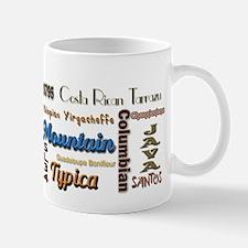 Coffee varieties Mug