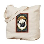 Pug Dog Designer Tote Bag 3