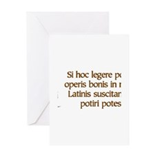 readLatin Greeting Cards