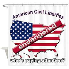 American Civil Liberties Shower Curtain