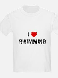 I * Swimming Kids T-Shirt