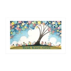 Magical Reading Tree Wall Decal