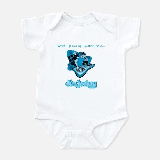 When I grow up I wanna be a DJ! Infant Bodysuit