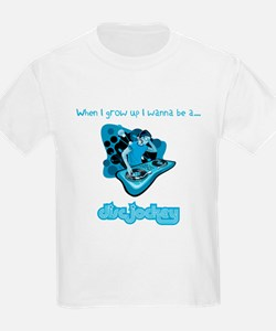 When I grow up I wanna be a DJ! T-Shirt