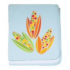 Corn baby blanket
