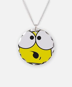 Shocked Face Necklace