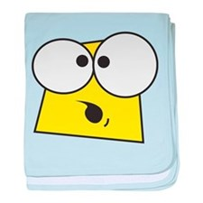 Shocked Face baby blanket