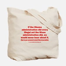 2sided Coward Journalists Tote Bag