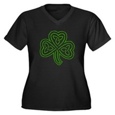 shamrock1dark Plus Size T-Shirt