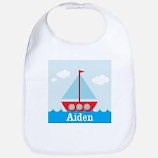 Personalizable Sailboat in the Sea Bib