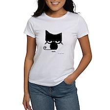 Meh Cat on Tee