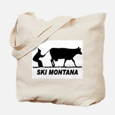 The Ski Montana Shop Tote Bag