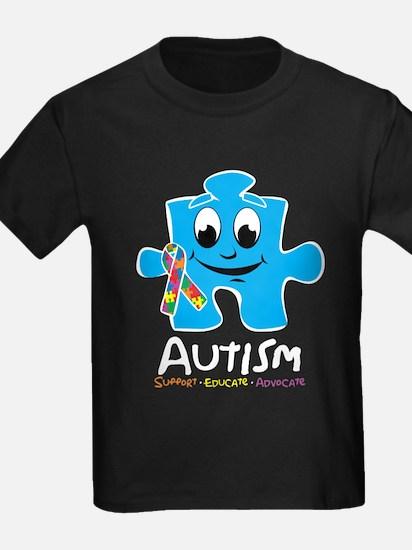 Autism Cartoon Puzzle Piece T-Shirt