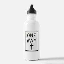 One Way: Jesus Water Bottle