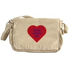 Silvia Loves Me Messenger Bag