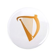 "Harp 3.5"" Button (100 pack)"