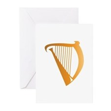 Harp Greeting Cards (Pk of 10)