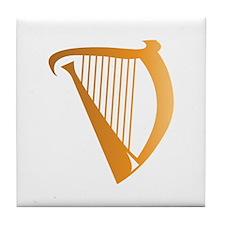 Harp Tile Coaster