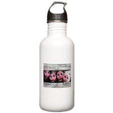 Four in a Row Water Bottle