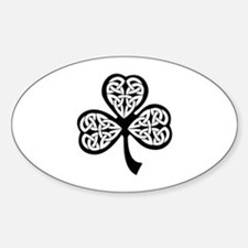 Celtic Shamrock Decal